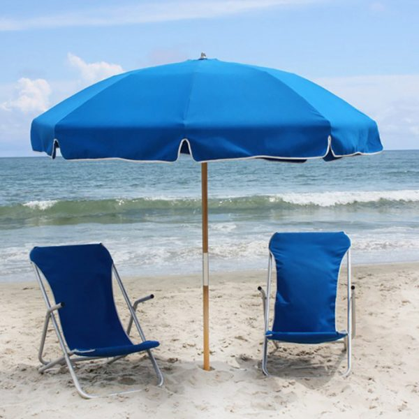 Barefoot Cabanas Sunset Beach Chair Umbrella Rental Image